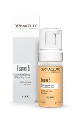 Dermaceutic Foamer 5 - Box and Bottle - Huid-&-Laser-Utrecht
