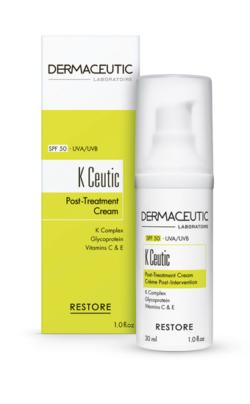 Dermaceutic K Ceutic - Box and Bottle - Huid-&-Laser-Utrecht
