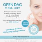 Open dag woensdag 9 oktober 2019