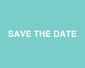 SAVE THE DATE 9-10-2019!
