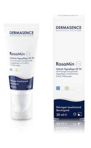 RosaMin getinte dagcrème spf50